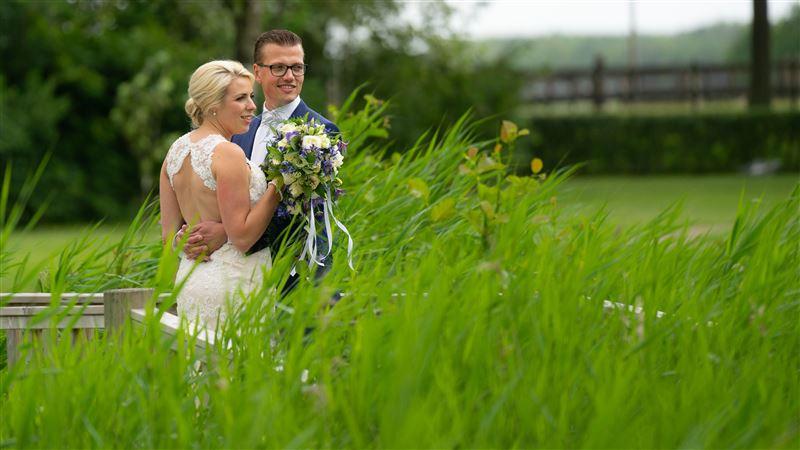 trouwen Menno en Karin